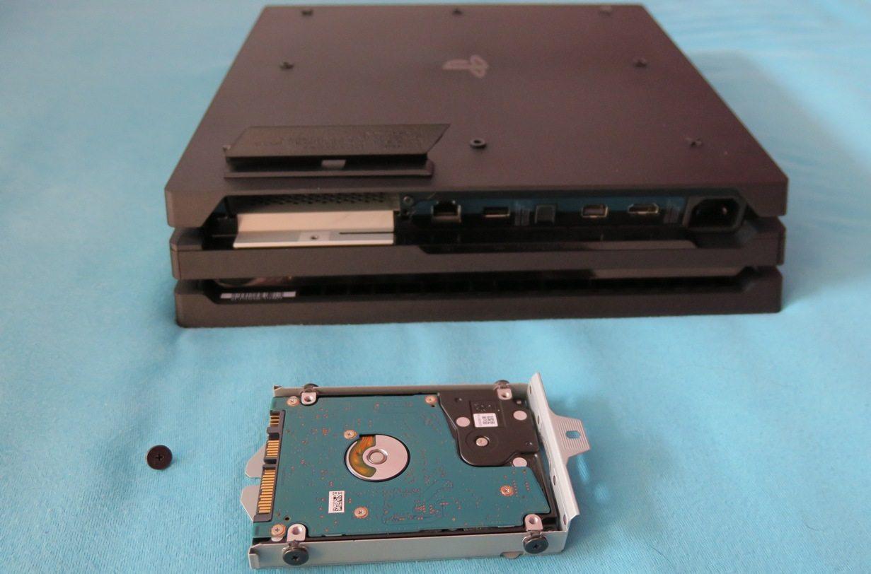 PlayStation 4 Festplatte