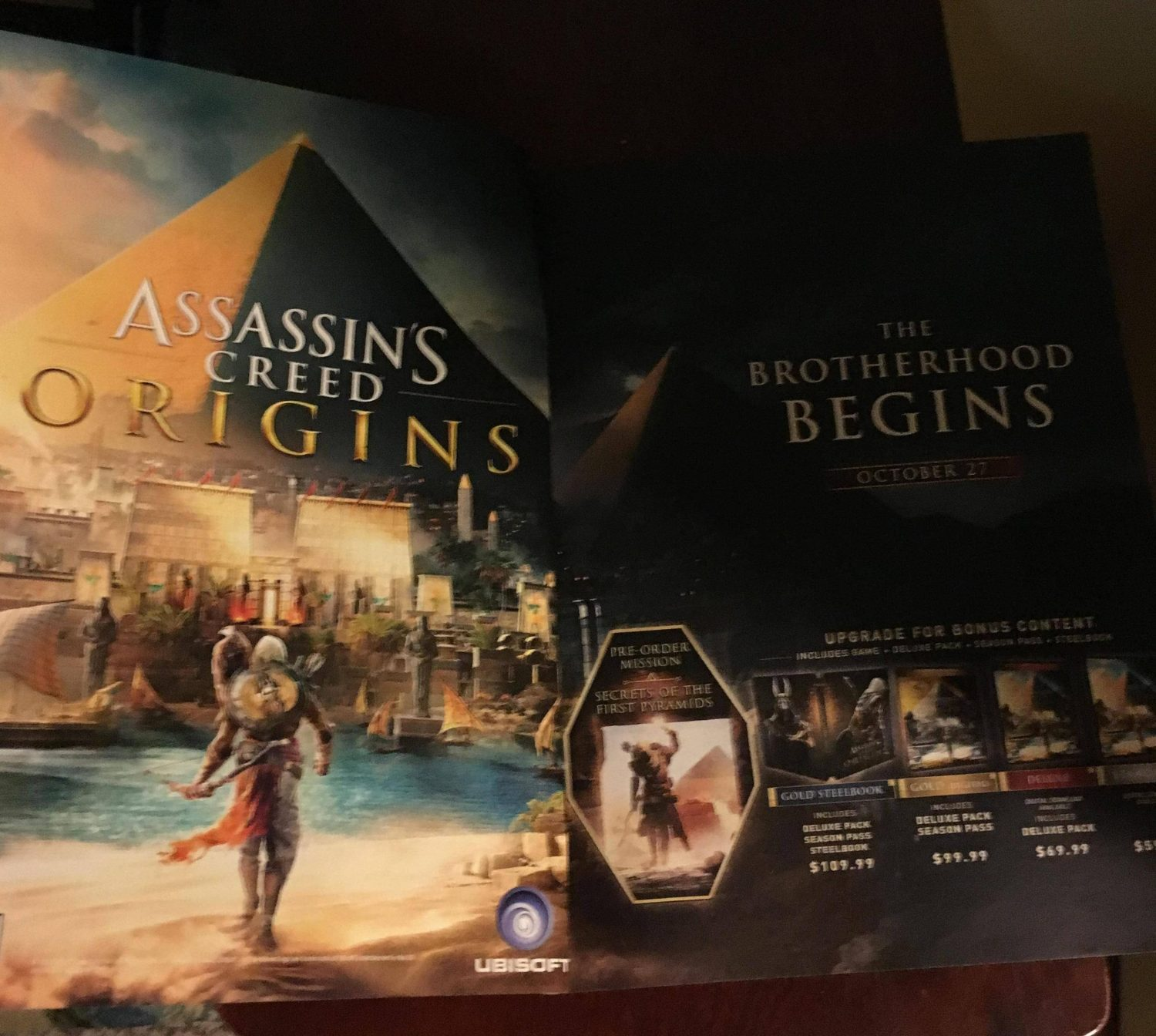 Origins Assassin's Creed Origins Leak