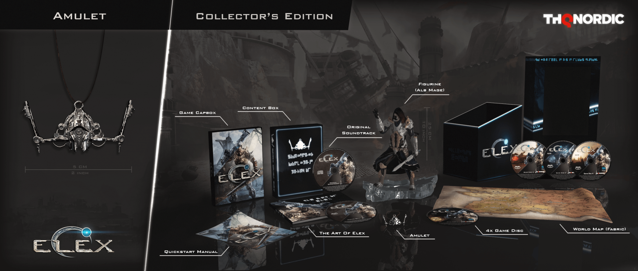 Elex Launch Collector's Edition