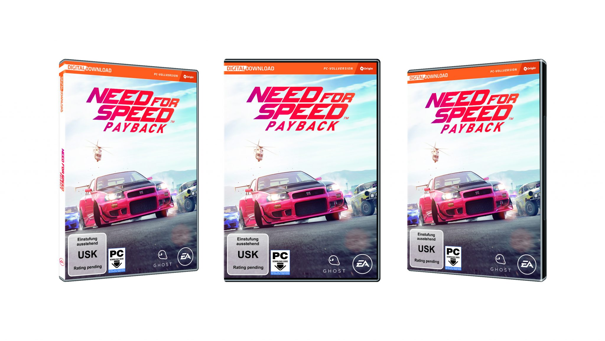 Need for Speed Payback Packshot PC