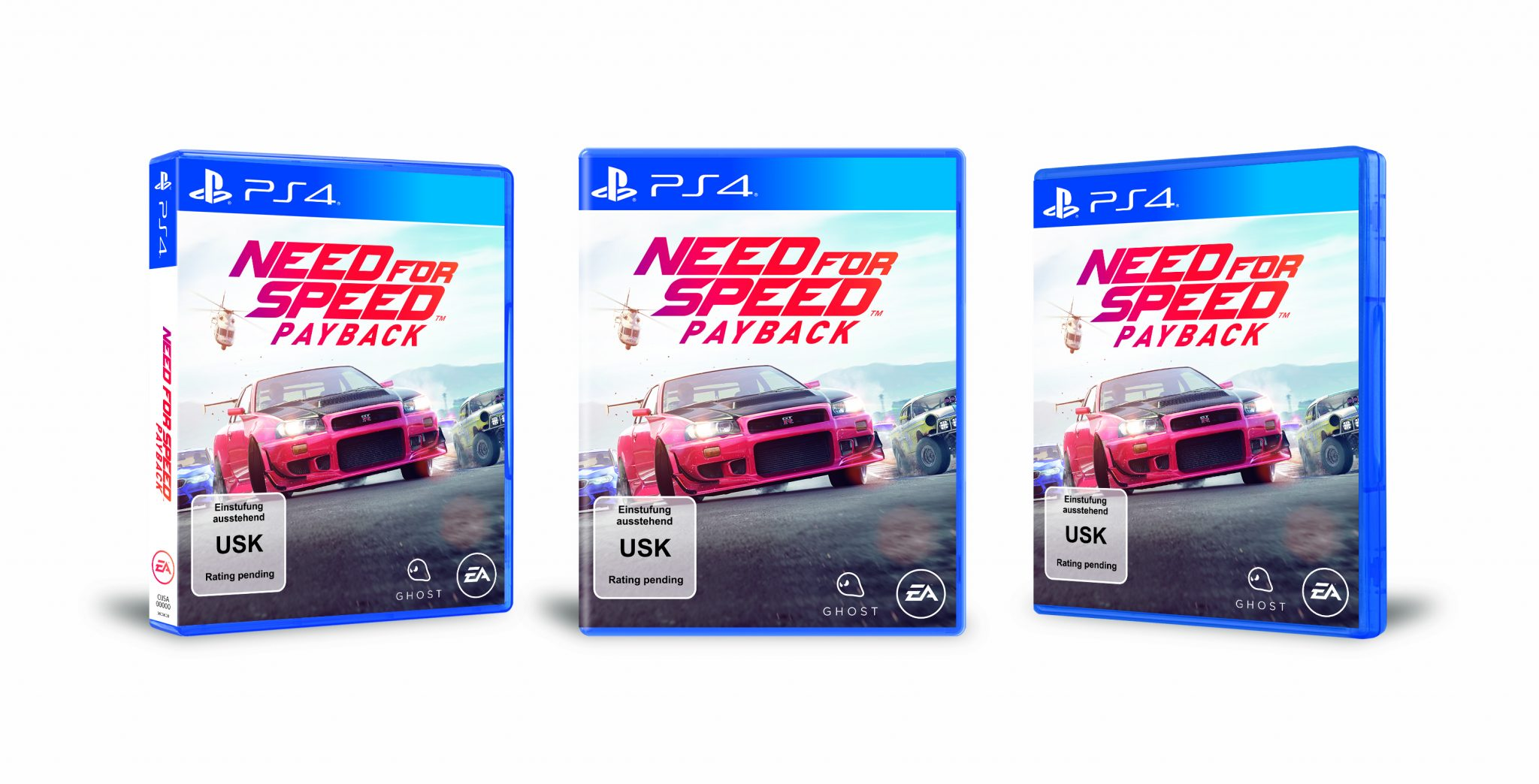 Need for Speed Payback Packshot PS4