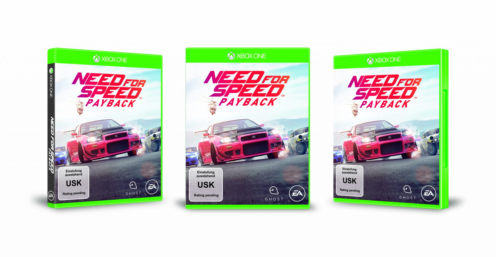 Need for Speed Payback Packshot Xbox One