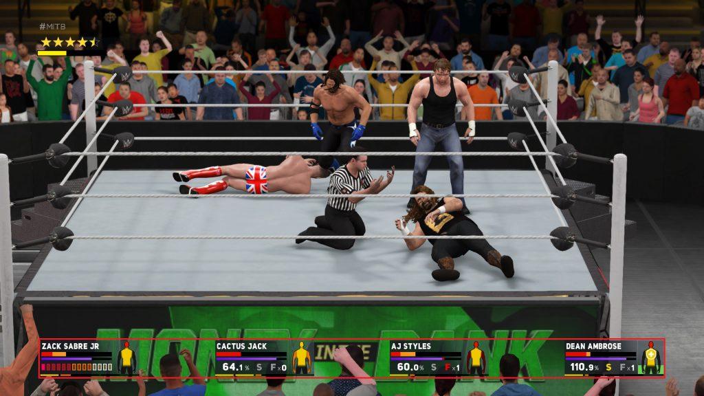 WWE 2K17 eignet sich perfekt für Gaming Trinkspiele