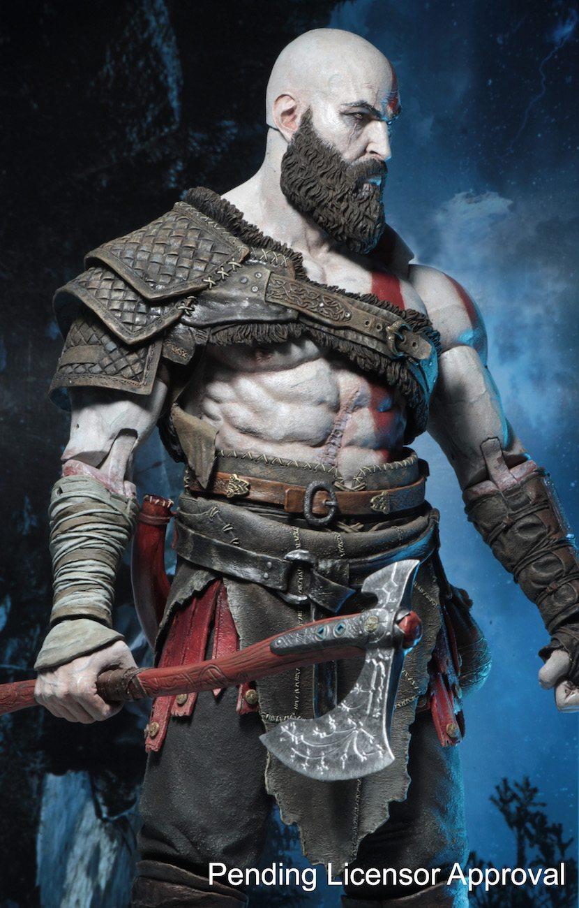 God of War Kratos SDCC