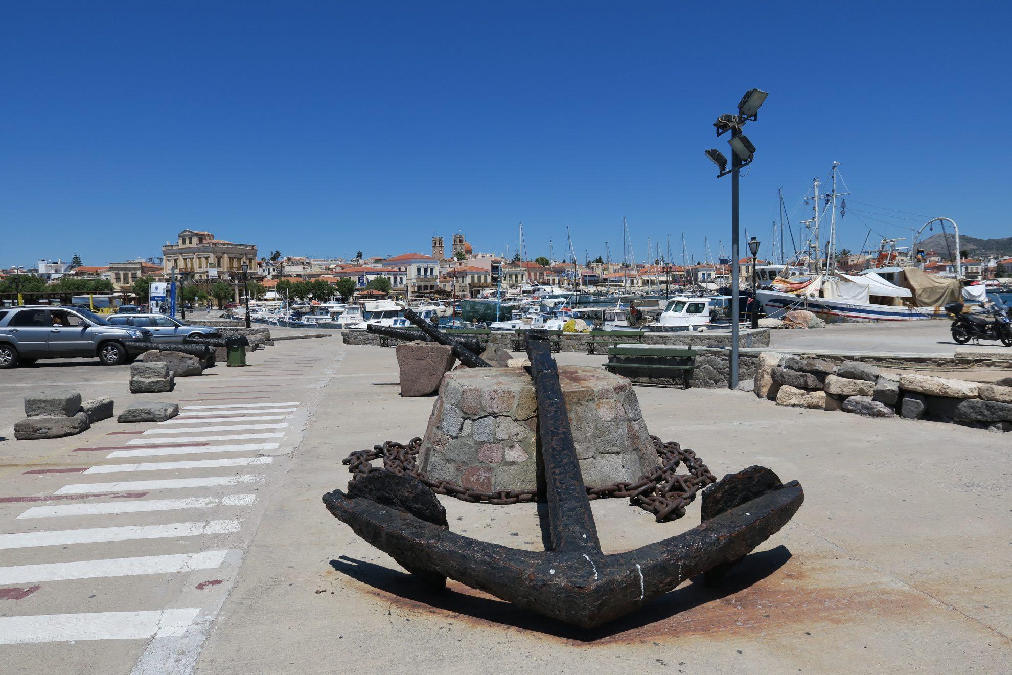 Canon PowerShot G3 X Hafen von Aegina