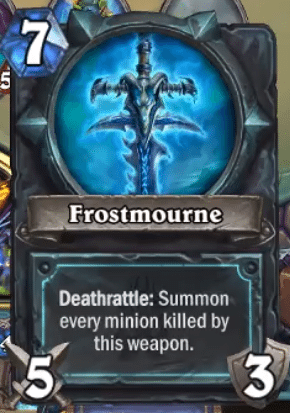 Hearthstone Erweiterung Knights of the Frozen Throne Ritter des Frostthrons Lich König Lich King