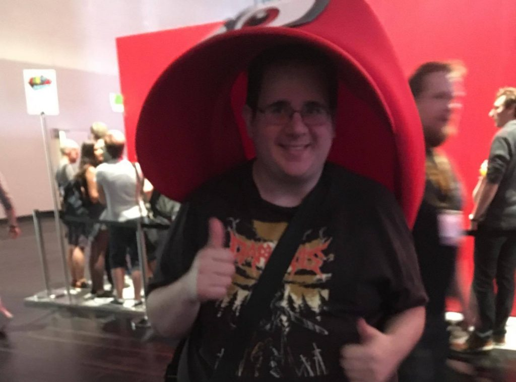 Daniel Herzog Gamescom 2017 Tag 1 Super Mario Odyssee