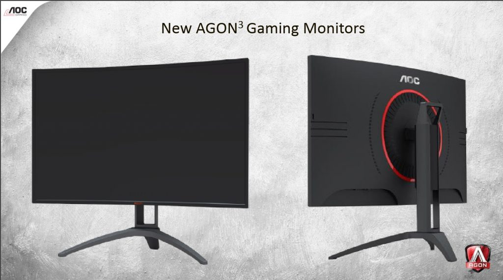 AOC AGON AGON 3 Gaming Monitore 4K HDR Gamescom 2017 Text 1