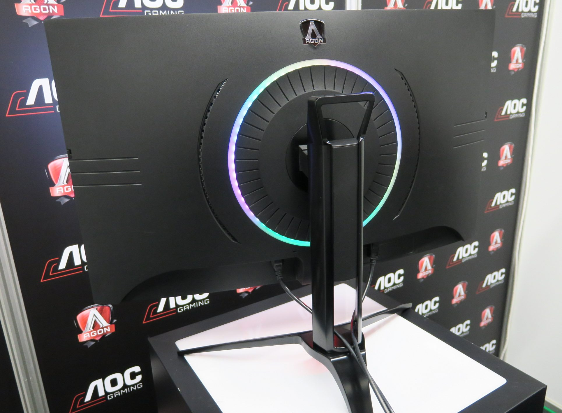 AOC Gaming Monitore Gamescom 2017 GC Text
