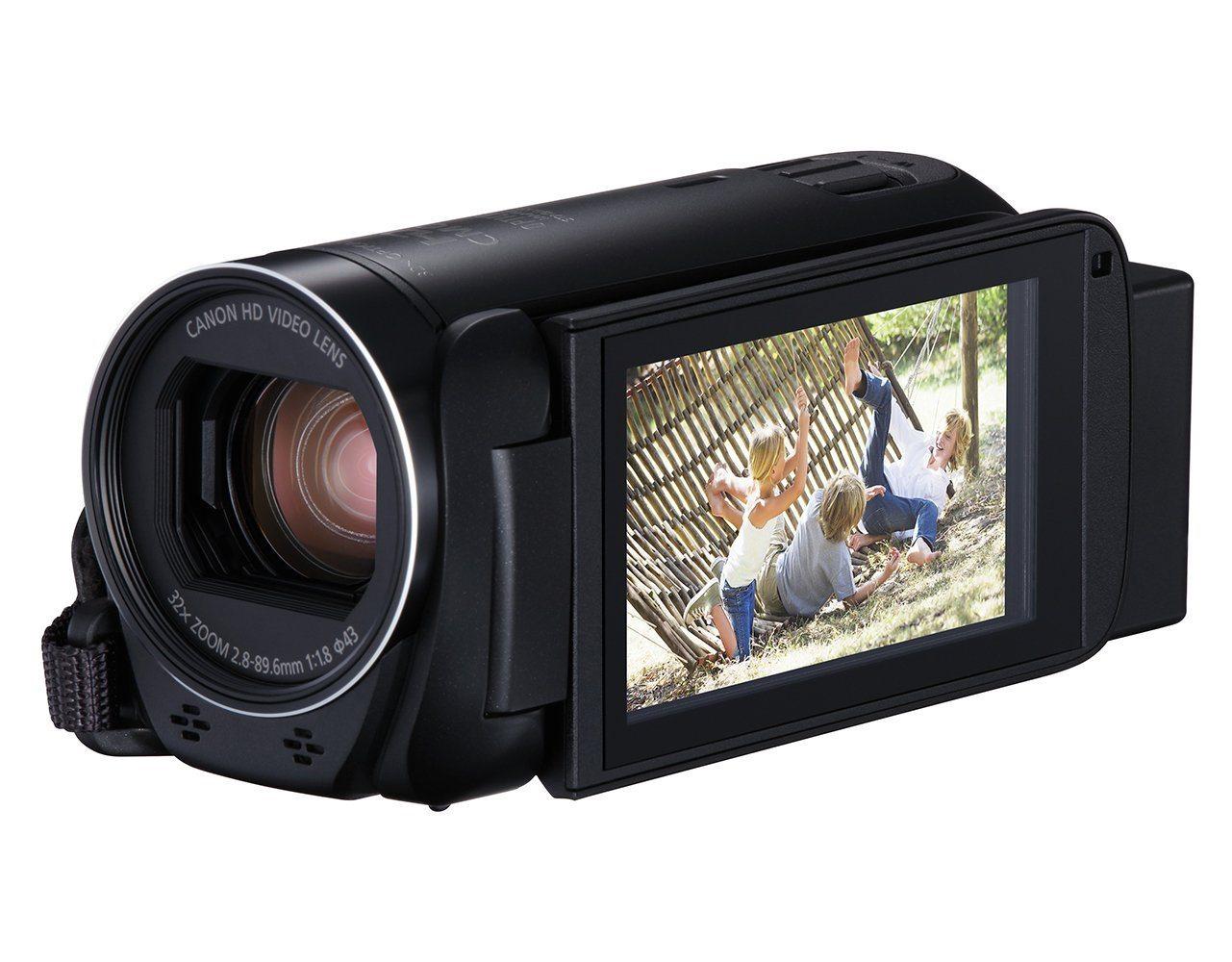Canon Legria HF R806 Gamescom Camcorder Text