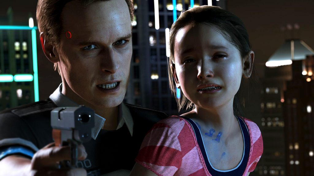 Detroit Become Human Gamescom 2017 PS4 Connor