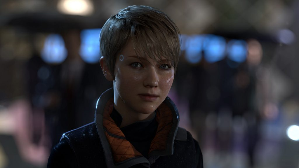 Detroit Become Human Gamescom 2017 PS4 Kara