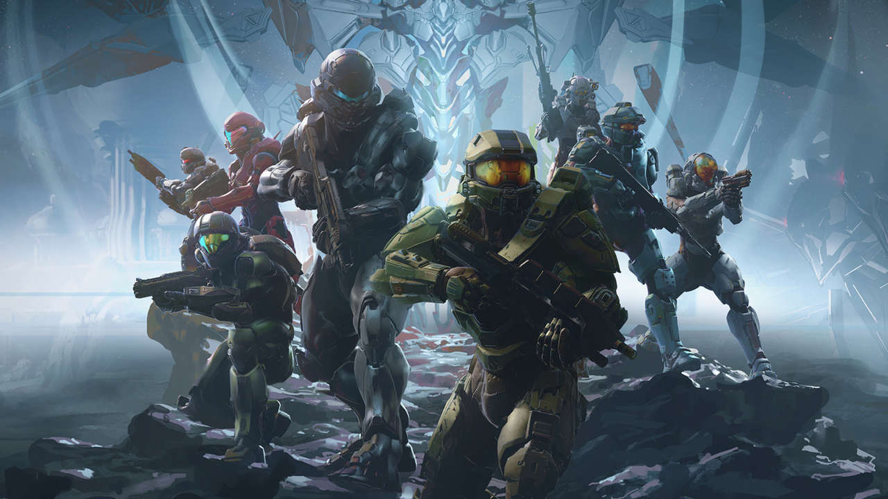 Halo 5 Guardians Xbox One X Update Text