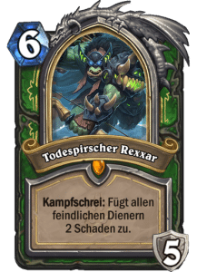 Hearthstone Erweiterung Knights of the Frozen Throne Ritter des Frostthrons Todespirscher Rexxar