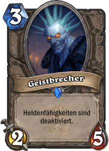Hearthstone Erweiterung Knights of the Frozen Throne Ritter des Frostthrons Geistbrecher