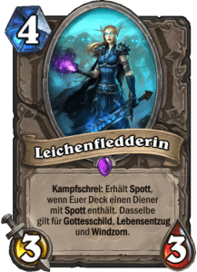 Hearthstone Erweiterung Knights of the Frozen Throne Ritter des Frostthrons Leichenfledderin Corpse Taker