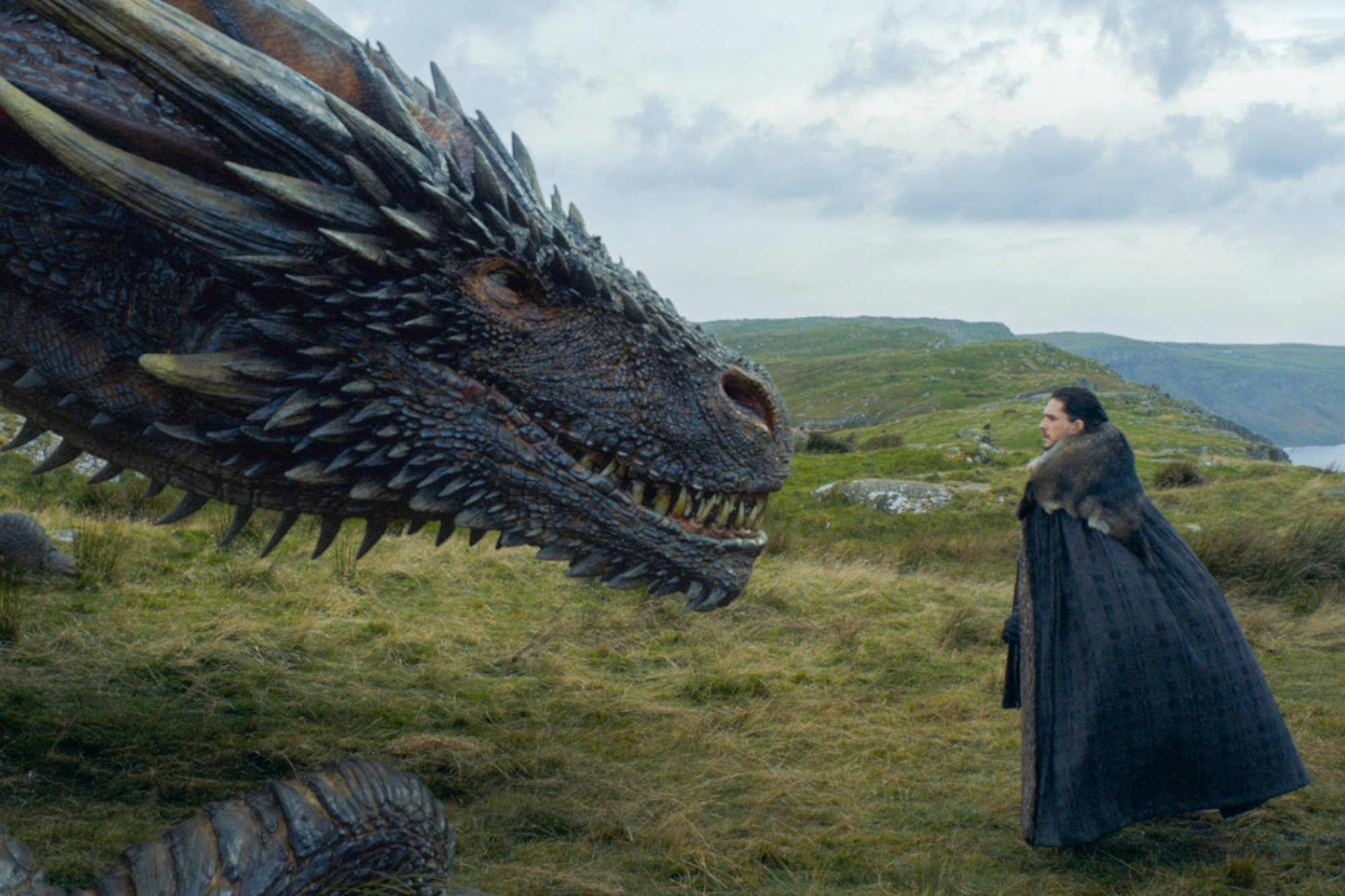 Ostwacht Game of Thrones Staffel 7 Episode 5 S7E4 Eastwatch Jon Drogon