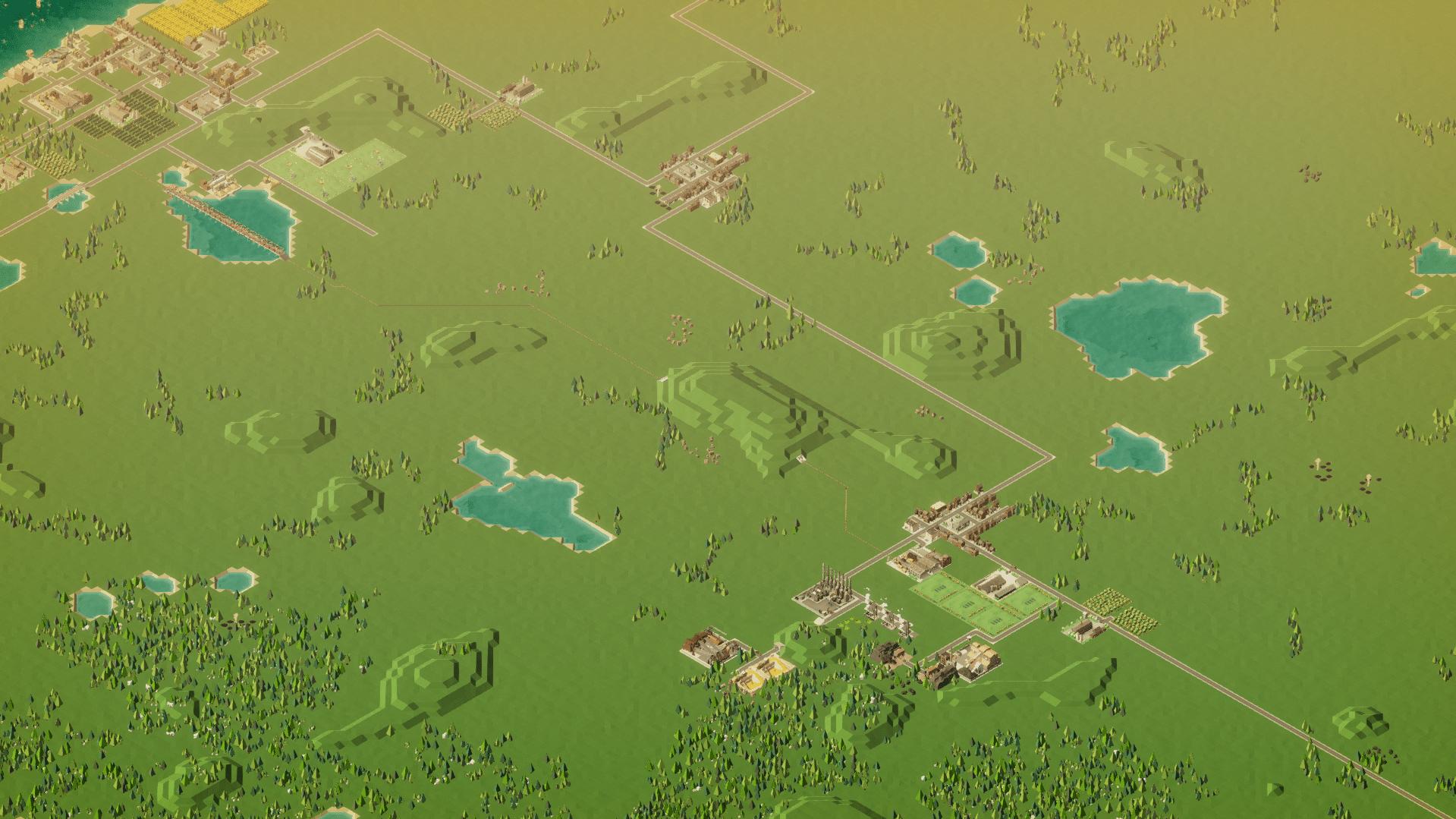 Rise of Industry - riesige Karte
