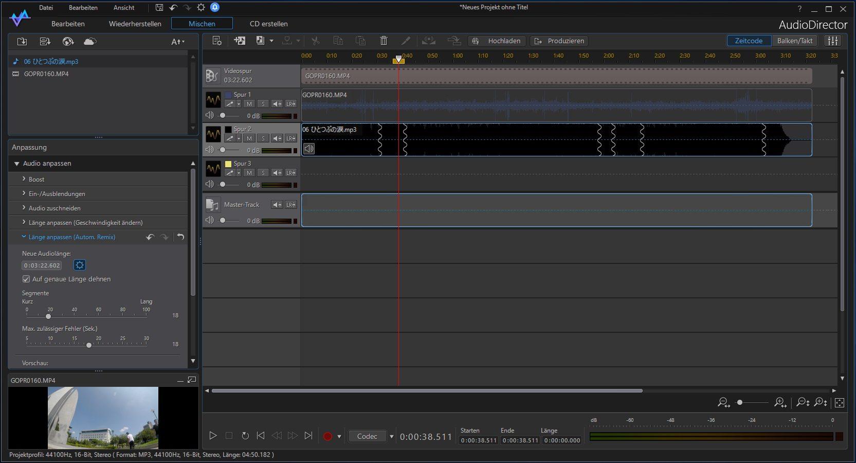CyberLink Director Suite 6 AudioDirector Screenshot Review