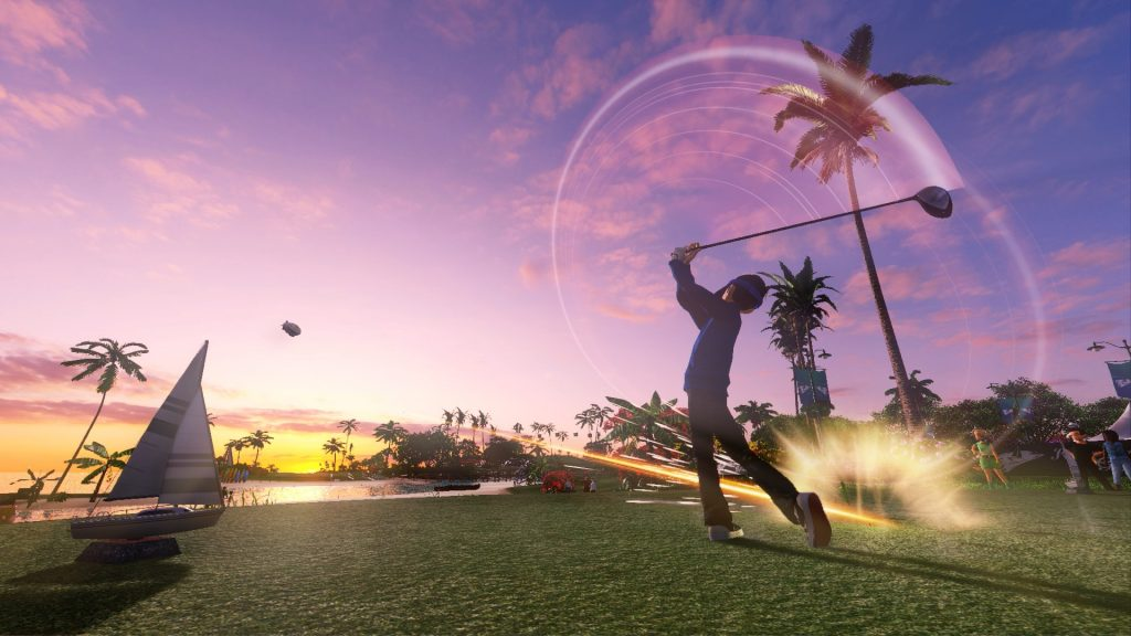 Everybody's Golf PS4 PlayStation 4 Test Review Schlag