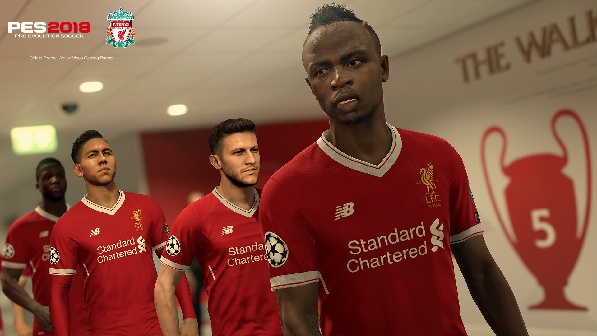 PES 2018 Pro Evolution Soccer 2018 PS4 Xbox One PC Liverpool