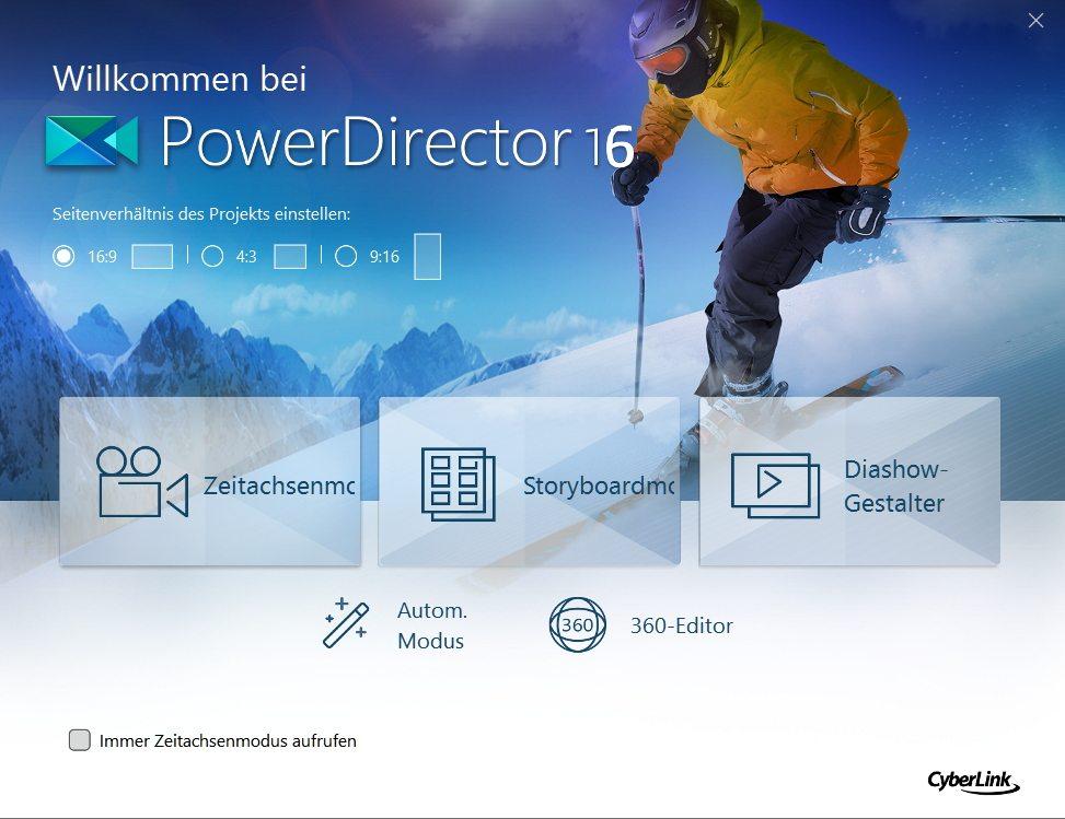CyberLink Director Suite 6 PowerDirector 16 Videobearbeitung 1