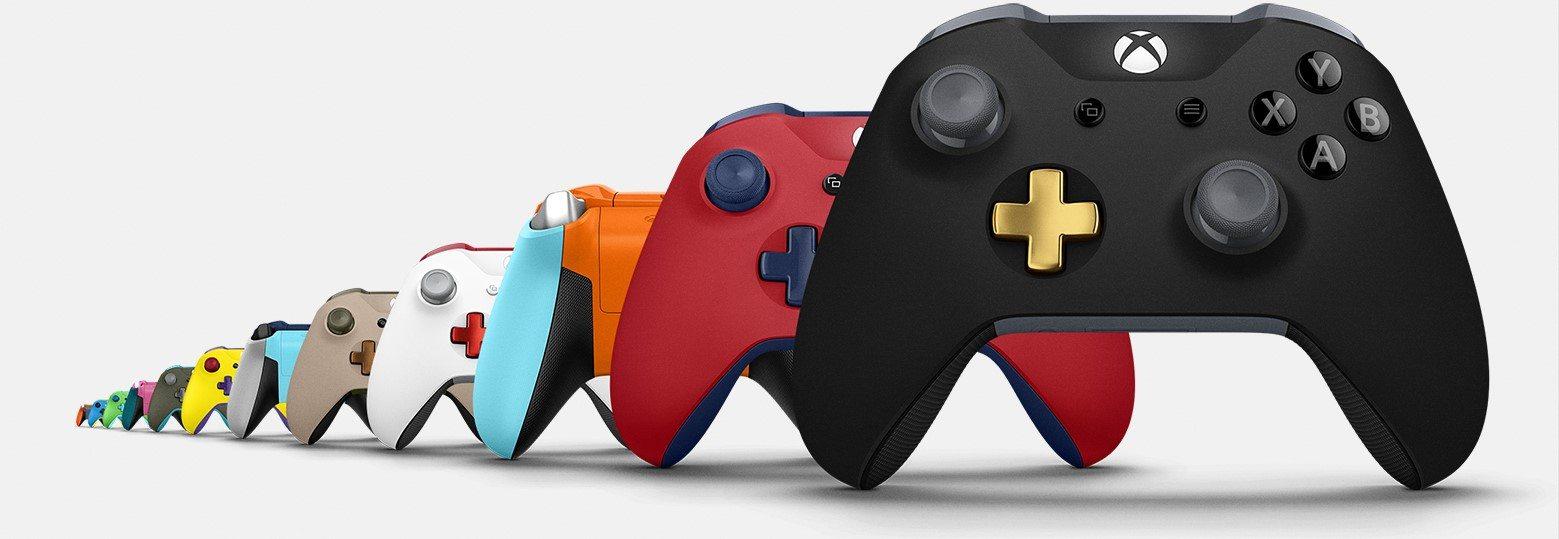 Xbox Design Lab Xbox One X Microsoft Controller 1