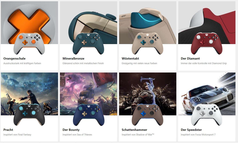Xbox Design Lab Xbox One X Microsoft Controller 2