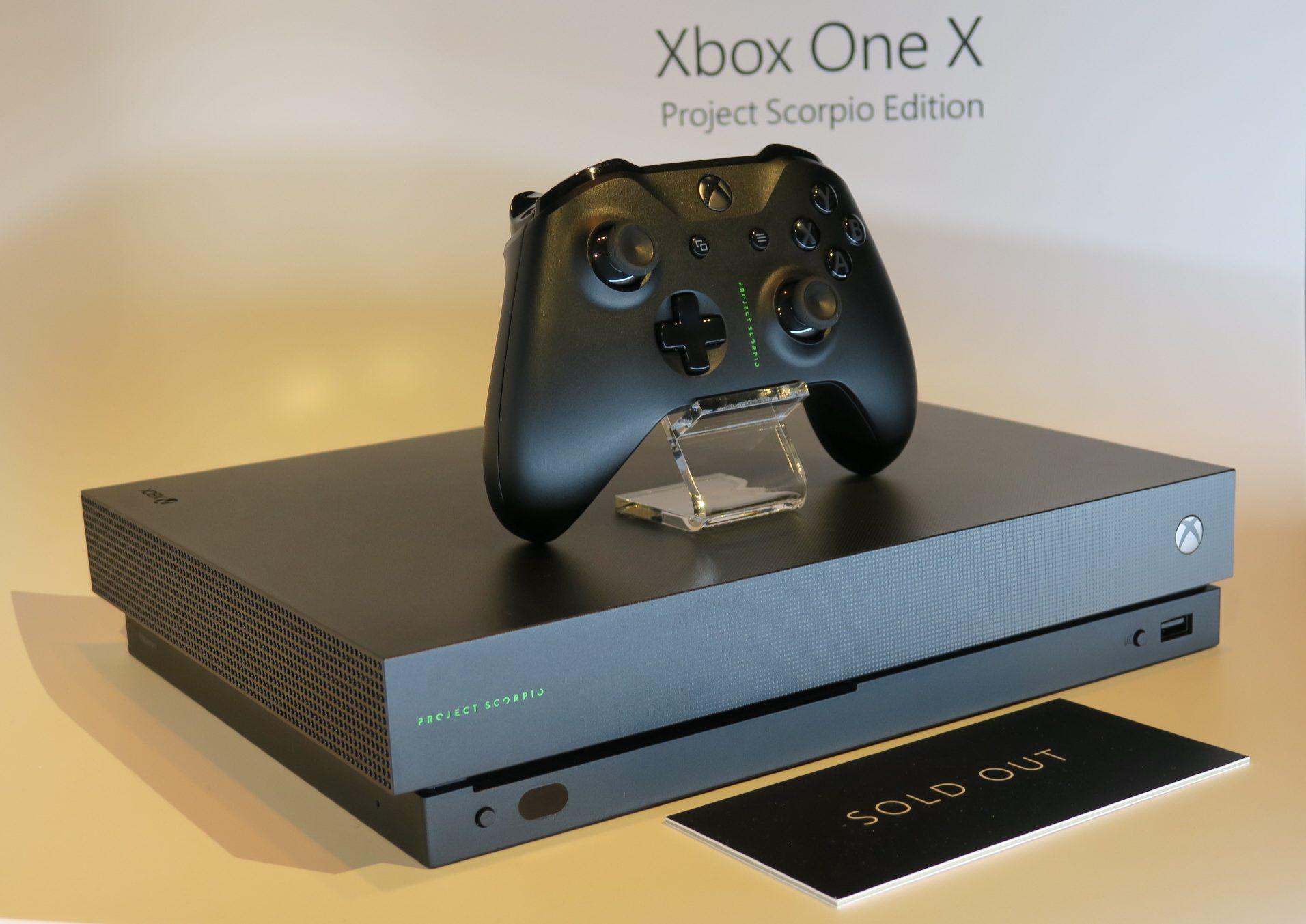 Xbox London Showcase Xbox One Xbox One X Microsoft 5