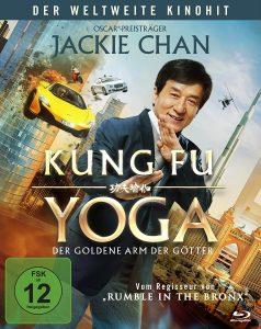 Kung Fu Yoga Gewinnspiel Boxart Blu ray