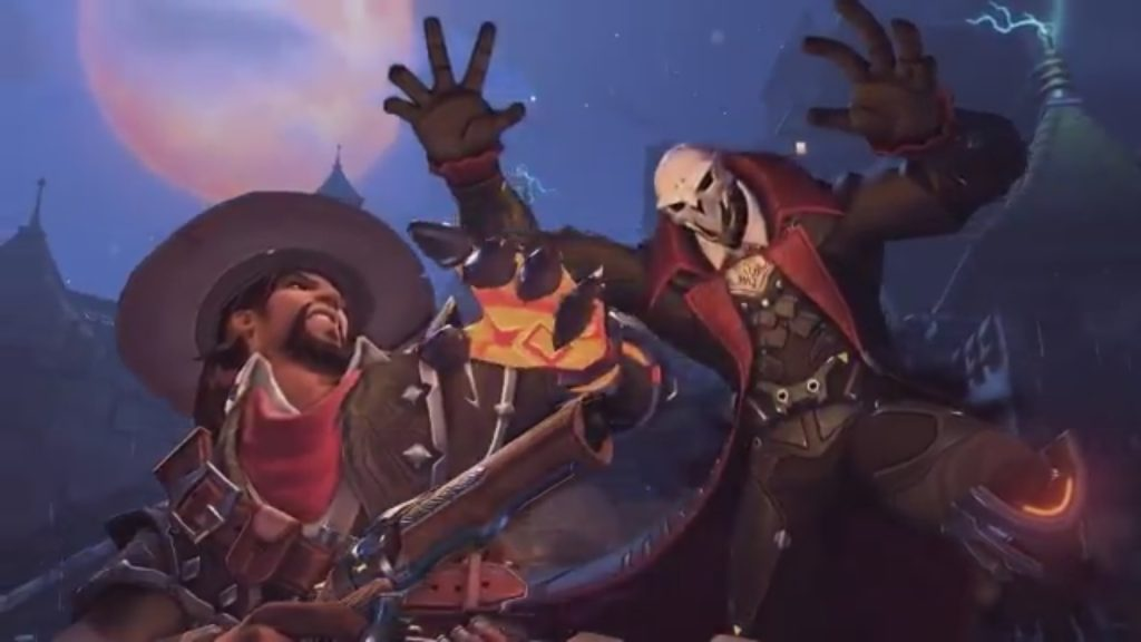 McCree Reaper Skin Overwatch Halloween Terror Event