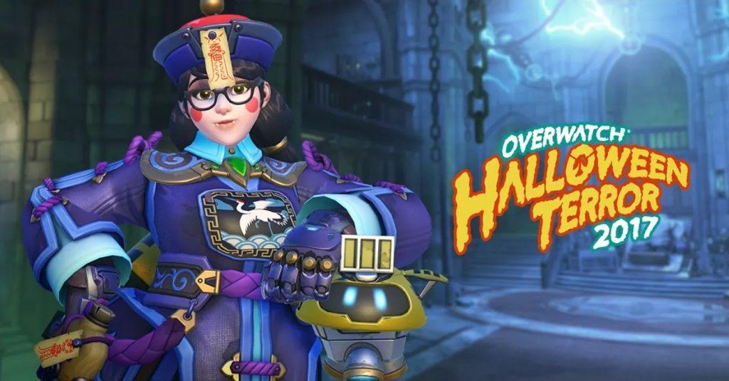 Mei Skin Overwatch Halloween Terror Event