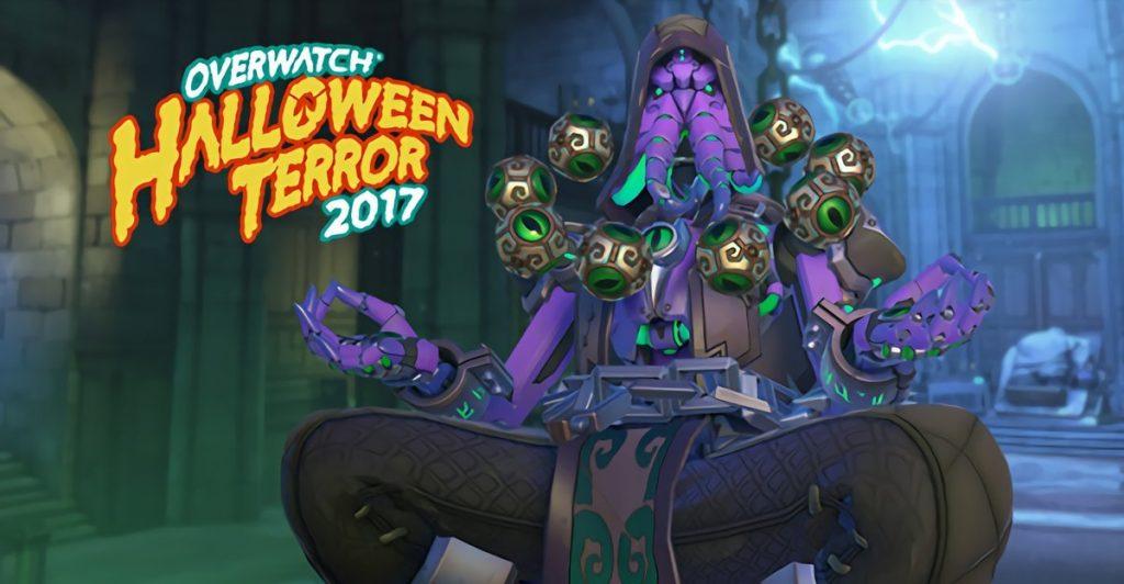 Zenyatta Skin Overwatch Halloween Terror Event