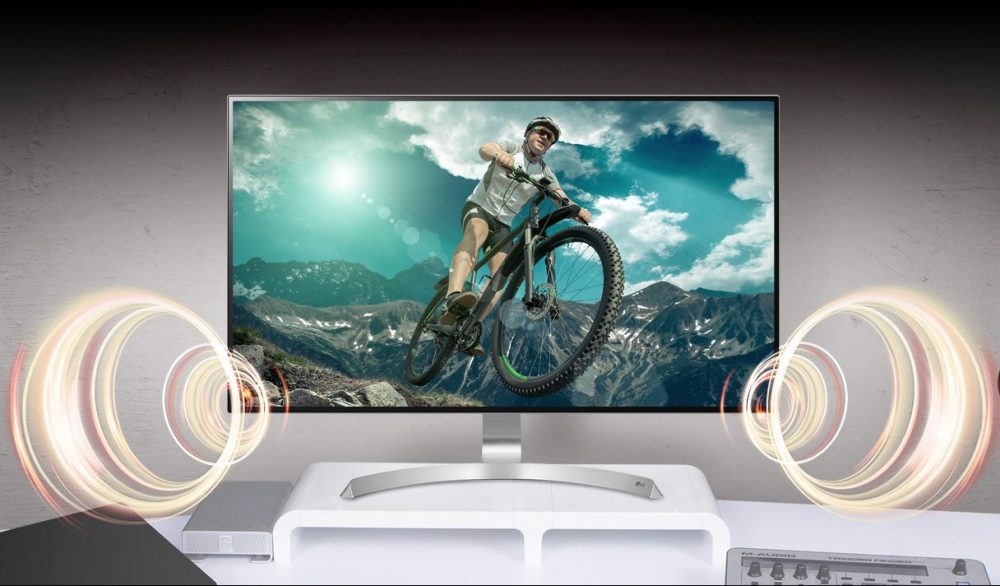 4K Monitor UHD Monitor LG 32UD89-W Test Titel 3