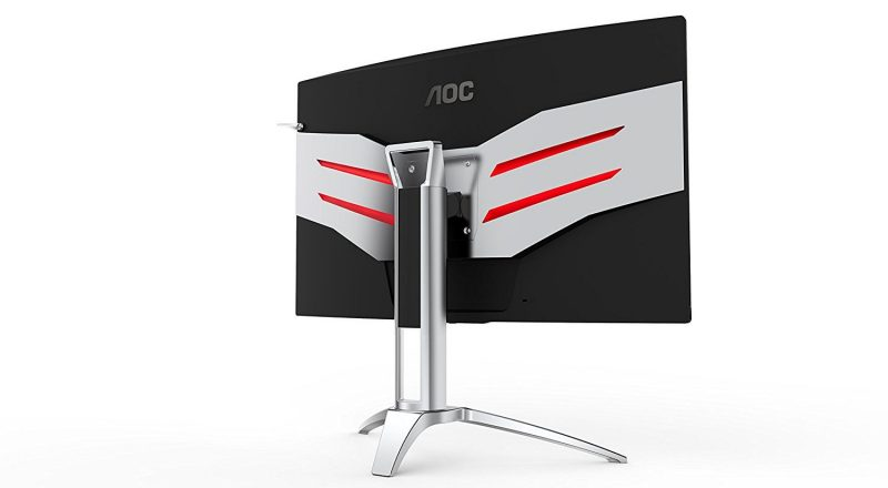 AOC AG322QCX Gaming Monitor Screen Display Curved QHD Review 2