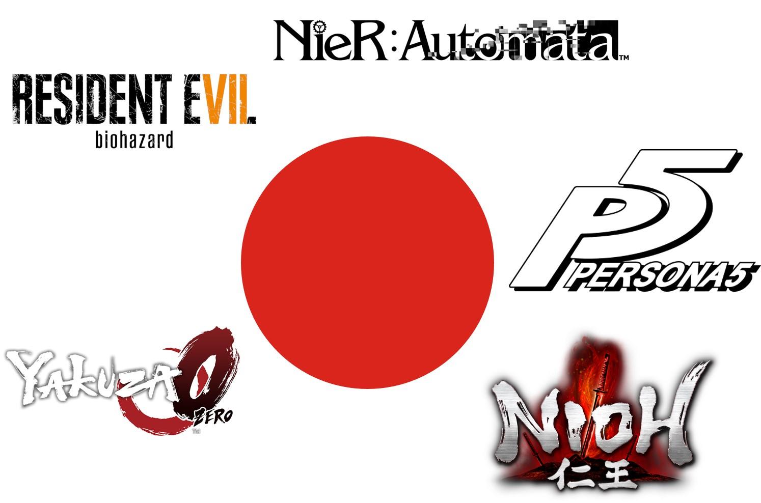 japanische spiele 2017 gaming rückblick 2017 gaming 2017 yakuza zero nioh nier automata resident evil 7 persona 5