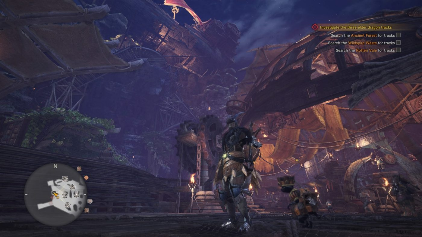 Monster Hunter World Review Hub World
