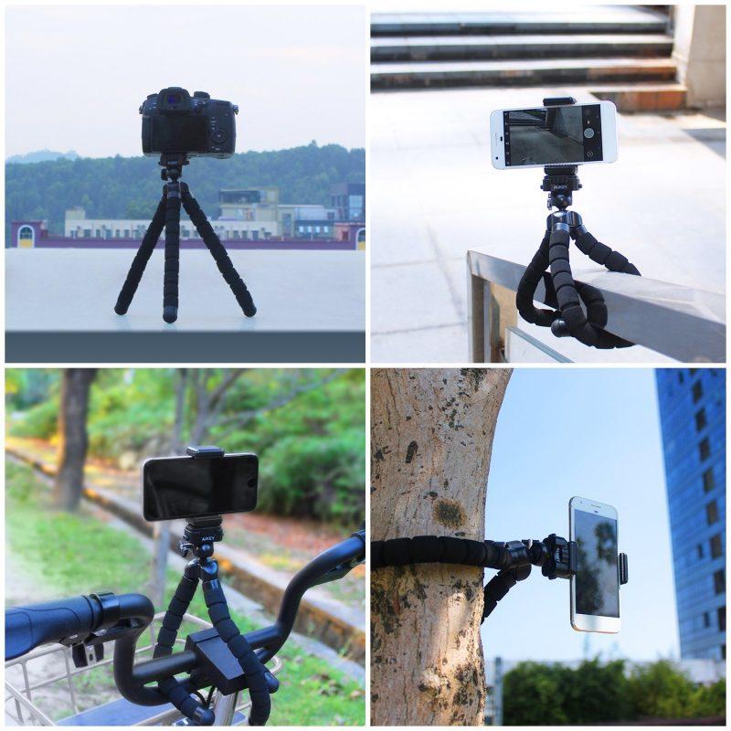 Aukey Stativ Smartphone Kamera GoPro 2