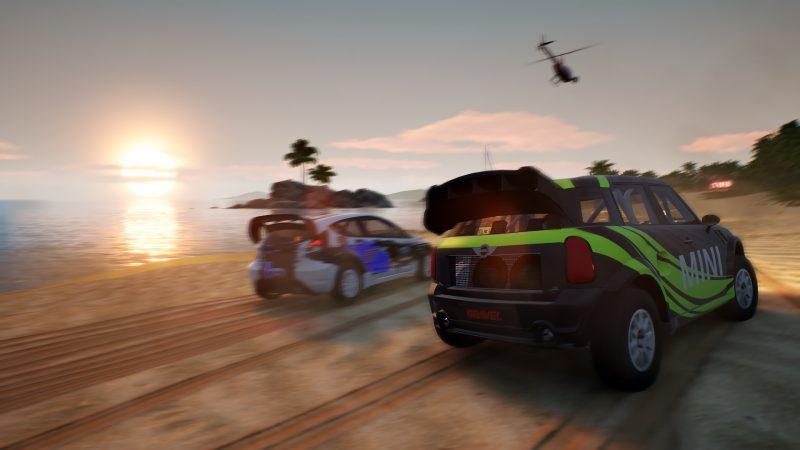 Gravel Test Review Kritik Arcade Racer Bandai Namco Beachboys