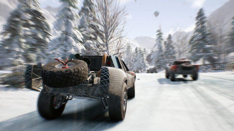 Gravel Test Review Kritik Arcade Racer Bandai Namco Winterwunderland 1