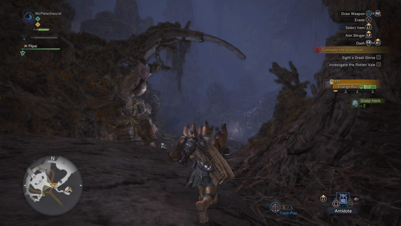 Monster Hunter World review Umgebungen rotten vale