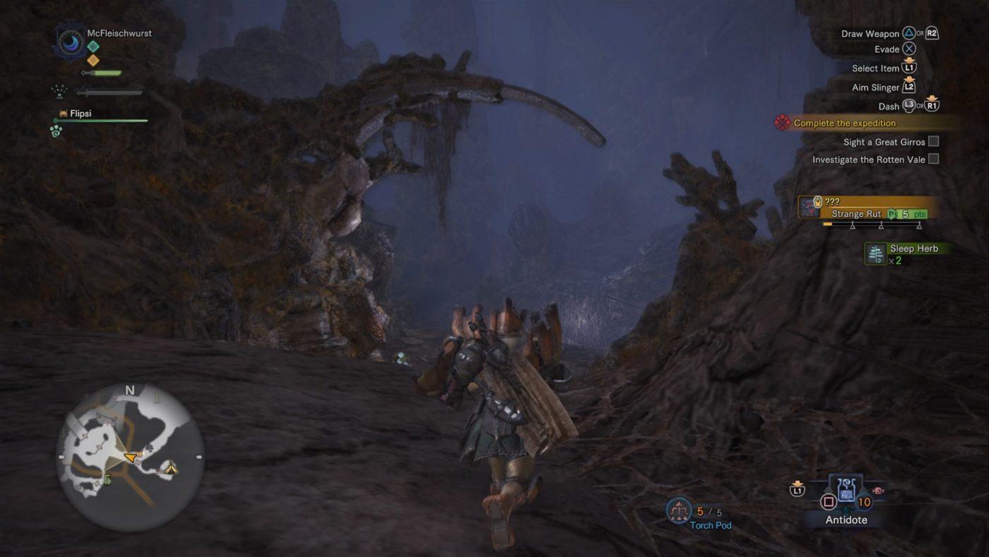 Monster Hunter World review Umgebungen rotten vale