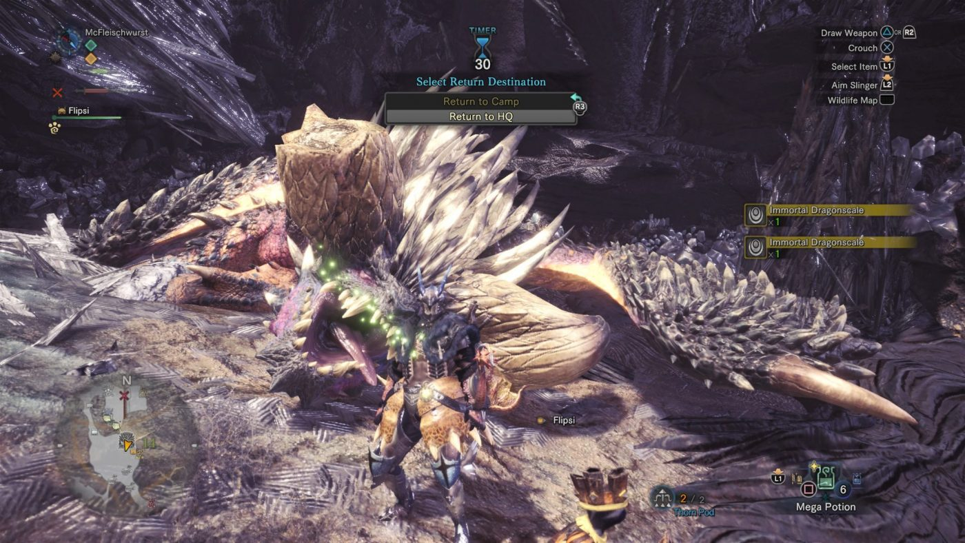 Monster Hunter World Review Monster Hunter World Nergigante