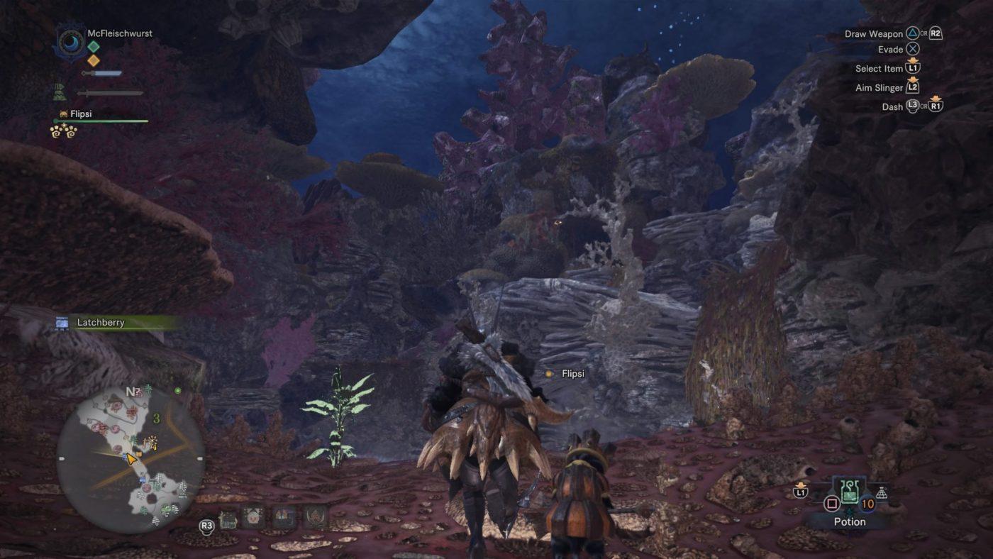 Monster Hunter World Review Monster Hunter World KorallenhochlandCoral