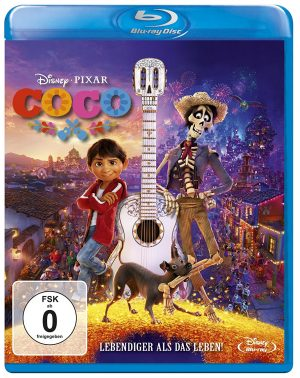Gewinnspiel Disney Pixars Coco Blu-ray Packshot