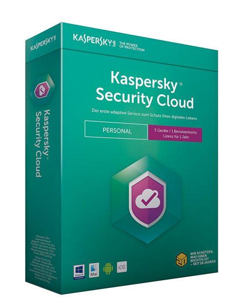 Kaspersky Gewinnspiel Kaspersky Security Cloud