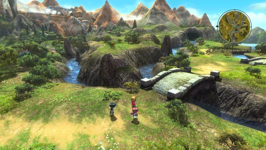 Ni No Kuni II Schicksal eines Königreichs Review Kritik Bandai Namco RPG Oberwelt