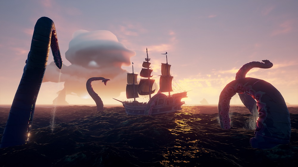 Sea of Thieves Review Kritik Test Xbox Microsoft Kraken