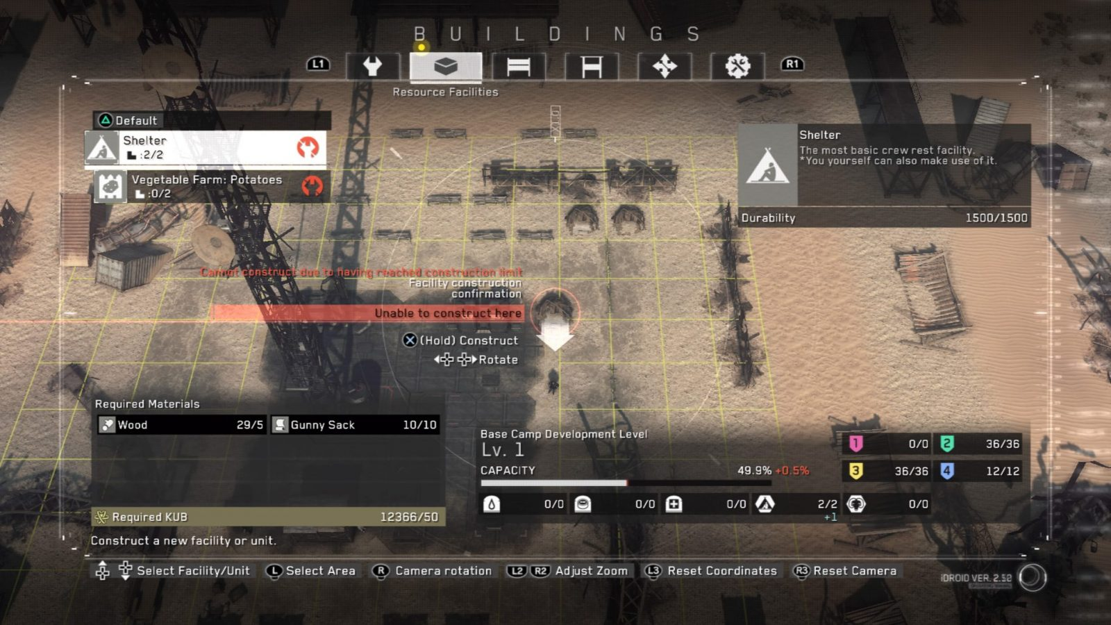 Metal Gear Survive Review basis bauen