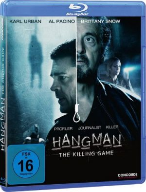 Gewinnspiel Hangman-The Killing Game Karl Urban Al Pacino Concorde Brittany Snow Blu ray